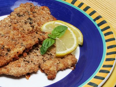 Milanese Turkey Cutlets. These Milanese turkey cutlets are flavorful and simple to prepare -- and yes, you can substitute chicken for the turkey if that's what you have on hand.  Diabetic Gourmet Magazine - Diabetic Recipe DiabeticGourmet.com