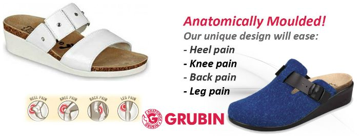Your feet deserve the best orthopedic support. Treat your feet with stylish and comfortable footware from #Grubin   #stylishorthopedicshoes