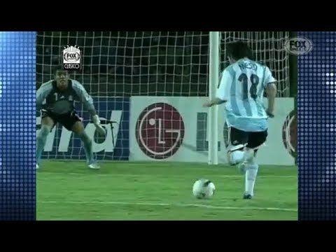 Gol de Messi vs Mexico TELEVISA - YouTube