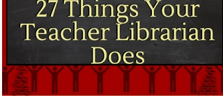 Awesome Graphic on the 27 Things Teacher Librarians Do ~ Educational Technology and Mobile Learning