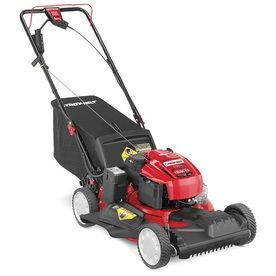 Troy-Bilt TB280 Es 190cc 21-in Self-Propelled Front Wheel Drive 3-in-1 Gas Push Lawn Mower with Briggs & Stratton Engine and Mulching Capable