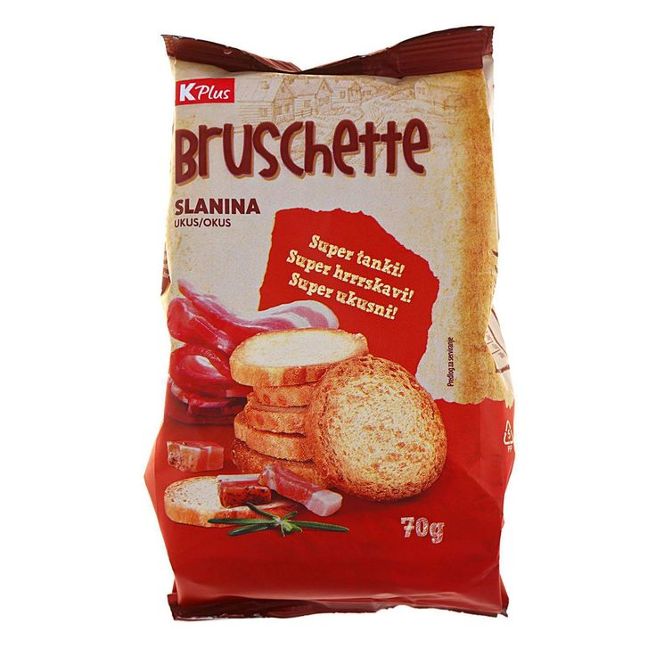 💖♕✨ <3--->... Bruschette slanina 70 g
