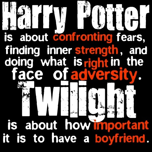 I hate Twilight.Stephen King, Harrypotter, Book, Funny, Friendship Quotes, Harry Potter Twilight, Twilight Series, True Stories, Steven King