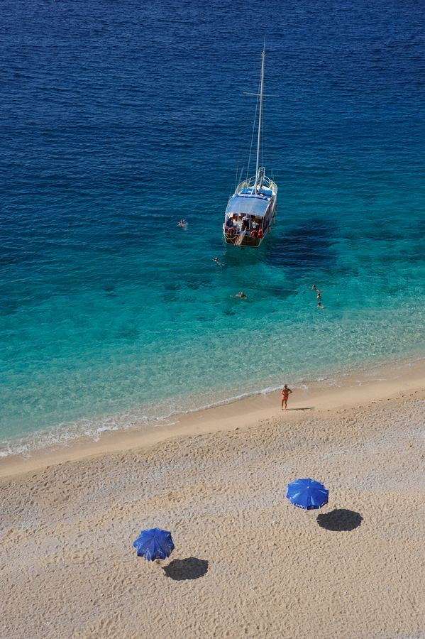 Kaputas beach - Kas / Turkey by İsmail Arzu Açıkel