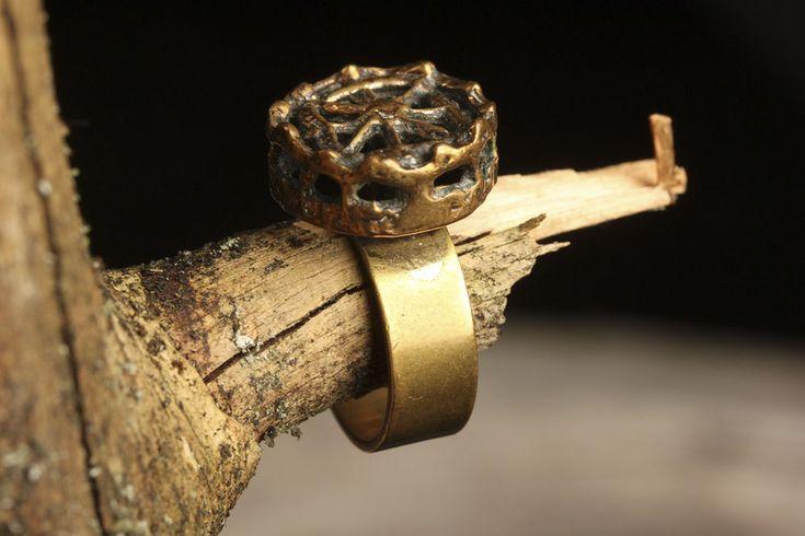 Vtg 60s Scandinavian Modernist Pentti Sarpaneva Finland Bronze Ring Turun Hopea | eBay