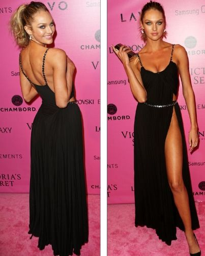 Candice Swanepoel at the VSFS After-party 2012