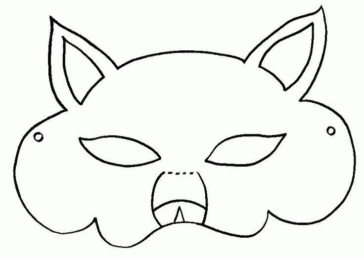 99 Mascaras De Lobo Para Colorear Dibujos Para Imprimir Y Colorear