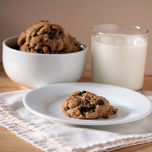 Rich Browned Butter Chocolate Toffee Chip Oatmeal Cookies
