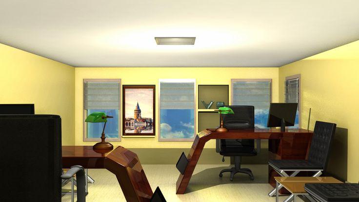 Ben-cil Blog: Ofis Çalışması -2-