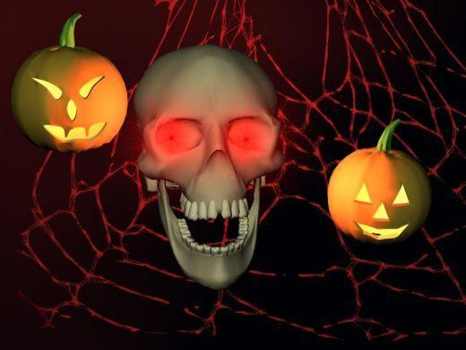 Halloween Digital Skulls  http://barnaclebill.hubpages.com/hub/halloweenskullsmasksdecorationsideas