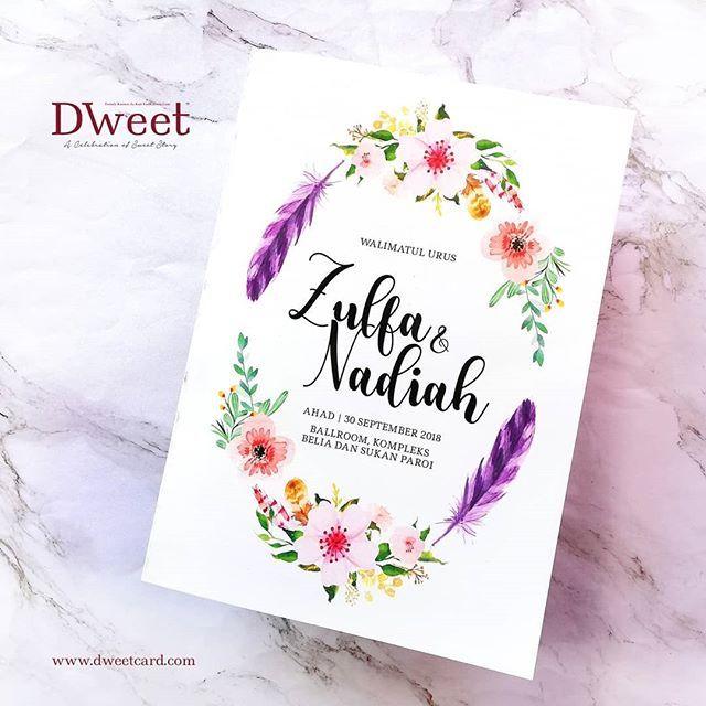 Jika Anda Menempah Kad Undangan Di Dweetcard Sekarang Anda Memang Akan Mendapat 8 Barang Anda Mungkin Akan Berpelu Kad Kahwin Book Cover 30 September