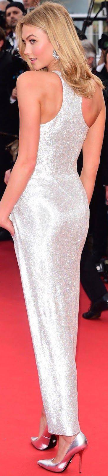 Sparkle Brighter... - Karlie Kloss in Versace 2015 Cannes Film Festival