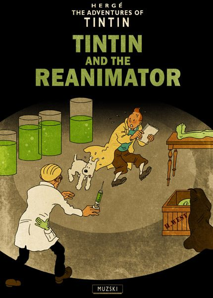 Tintin and the Reanimator