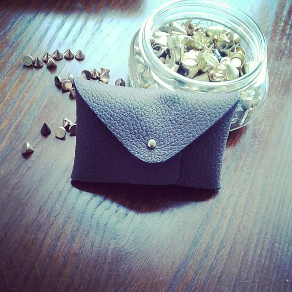 DIY Leather Coin Purse Kit