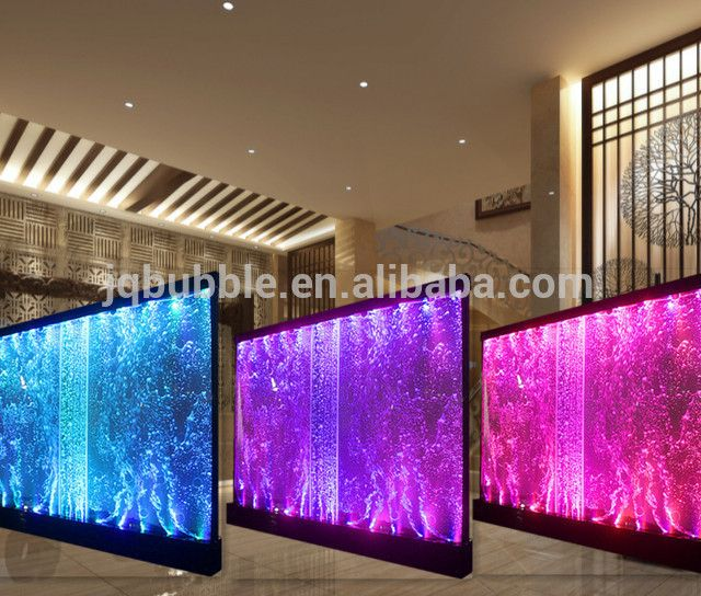 Source Custom Partition Wall Led Water Bubble Wall For Wedding