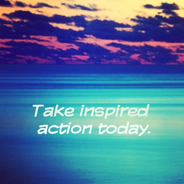 be inspired, inspire others!