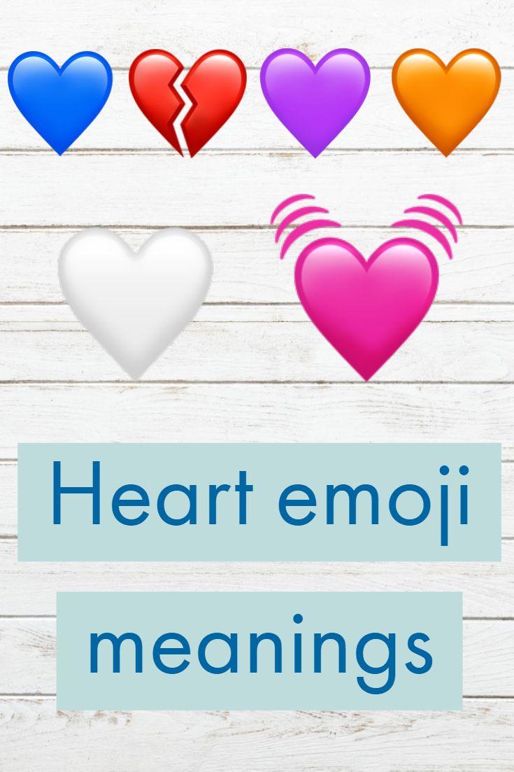 Many emojis are being sent on social media. Heart emoji is