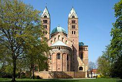 Speyer Cathedral (Dom zu Unserer lieben Frau in Speyer) -- World Heritage Site -- Speyer, Germany
