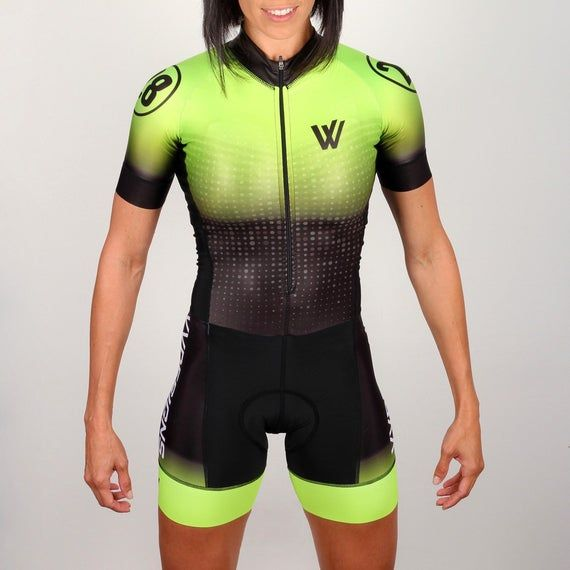 Download Neon 28 Trisuit Mockup Set Sports Apparel Template Biker Jersey Cycling Clothing Mockup T Shirt Custom Triat Cycling Outfit Sports Design Clothing Mockup