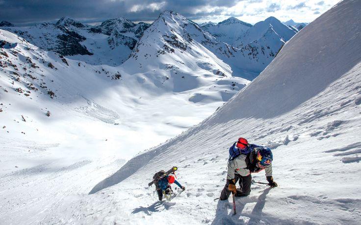 Skiing Colorado's 100 highest mountains #mountain