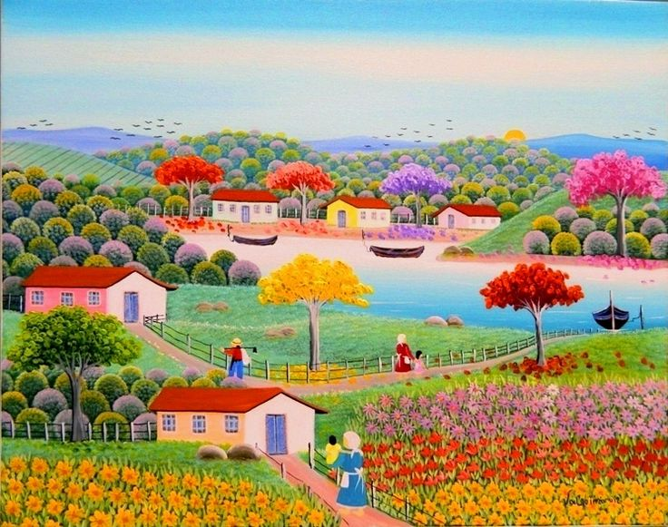 Extremamente 170 best NAİF SANAT images on Pinterest | Naive art, Folk art and  NV87