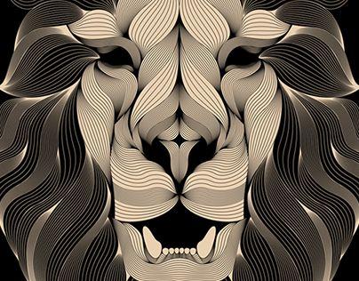 """Popatrz na ten projekt w @Behance: """"LION 3"""" https://www.behance.net/gallery/19420935/LION-3"""