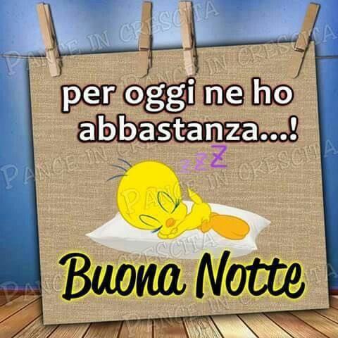 Ciao...buonanotte