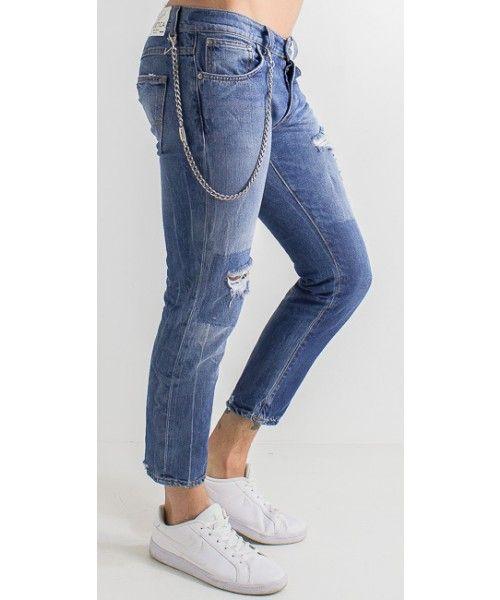 Jeans Anthony Cav New in cotone dalla vestibilità skinny.