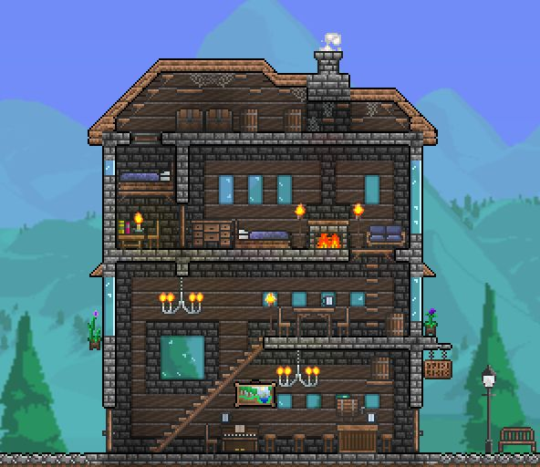 12 best Terraria - projekty images on Pinterest | Terraria ... Best Terraria House Design on best tiny house design, cool terraria castle design, best minecraft house design, terraria npc house design, terraria tree house design, terraria home design, best runescape house design,
