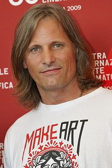 Viggo Mortensen... the super hot star of LOTR, Hidalgo and other movies. He's also a talented painter and poet.