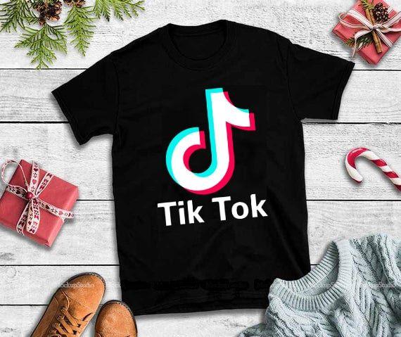 Tik Tok Svg Tik Tok Design Tshirt Buy T Shirt Designs Cute Tumblr Wallpaper Tik Tok Tshirt Designs