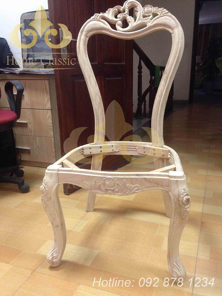 Строительство неоклассического столовой стулья 03