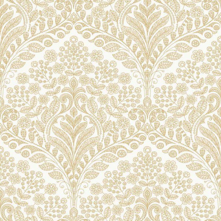 Boråstapeter Ornament malli 5950, seitsemän värivaihtoehtoa. Värisilmä, www.varisilma.fi
