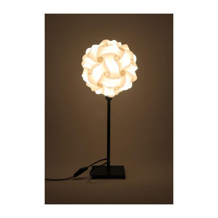 lampa stołowa Puzzle na podstawie