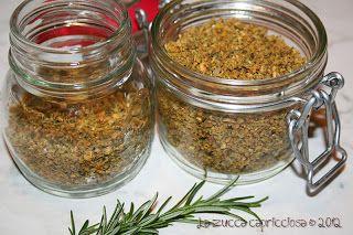 Dado granulare vegetale fatto in casa