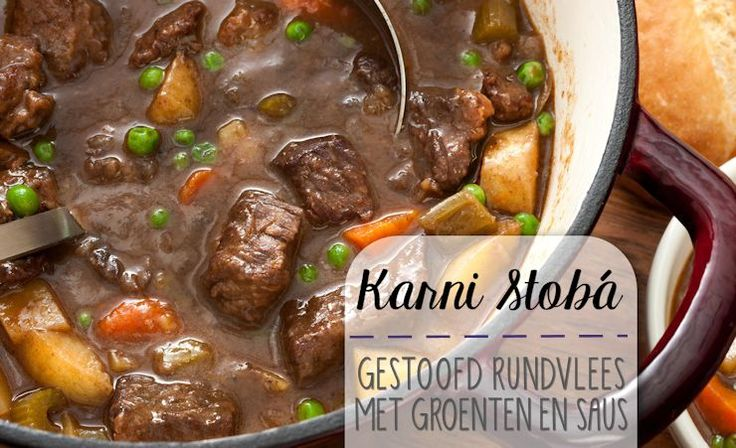 Eén van de meest gegeten gerechten is de stobá. Een heerlijk gekruide stoofschotel met steeds weer een andere 'ster'. In dit geval is dat het rundvlees. Je kunt deze Karni Stobá eten m…