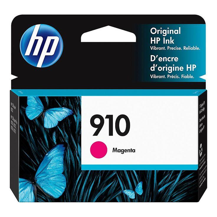 Hp 910 original ink cartridge magenta 3yl59an black