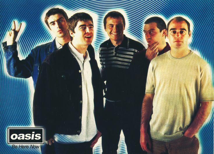 Oasis - Revista Clip Rock, 1998.   Oasis   Oasis, Liam ... Oasis Band 1995