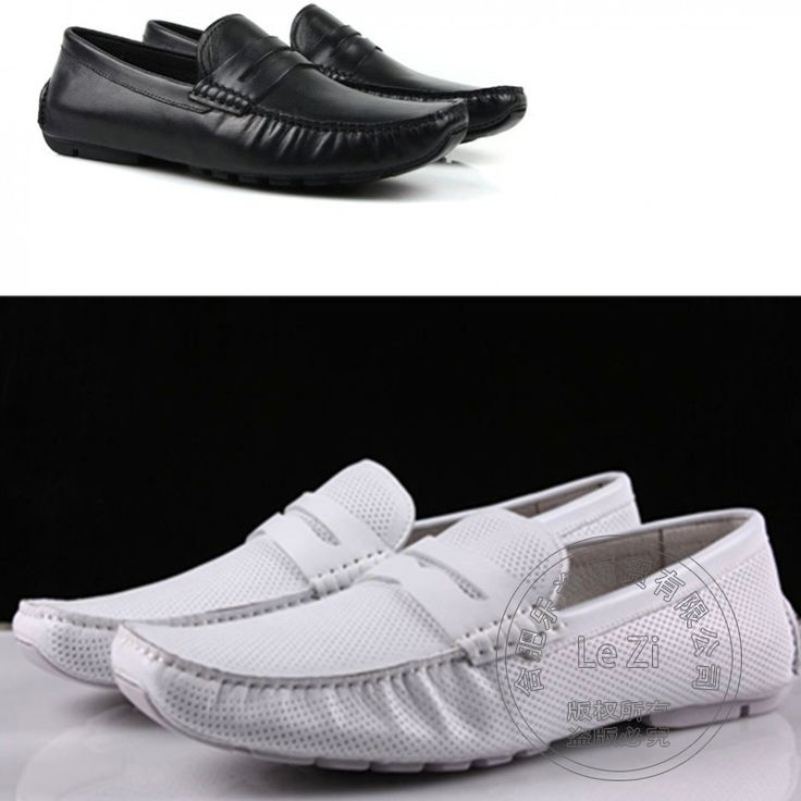 89.73$  Watch here - http://ali9sn.worldwells.pw/go.php?t=32767121890 - Ventilate Cowhide Sewing Men's Leather Moccasins Soft Leather Flat Toe Punched Men White Loafers Driving Shoes Men Summer Style 89.73$
