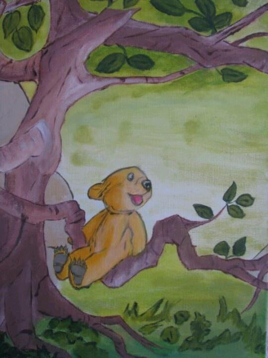 3 luik 2 Acrylverf op doek geschilderd door Marion Dijksma