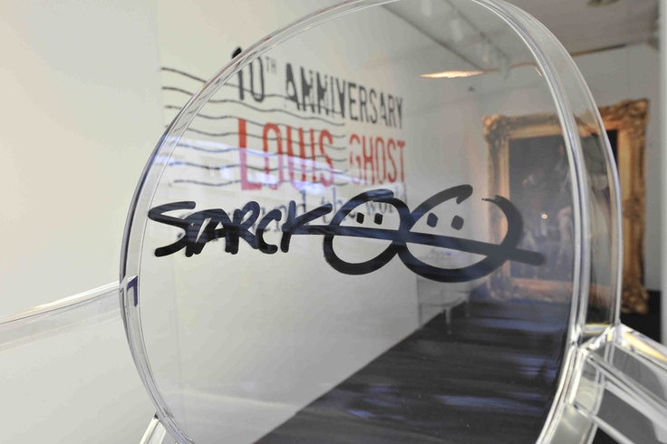 Louis Ghost Anniversary by Philippe Starck