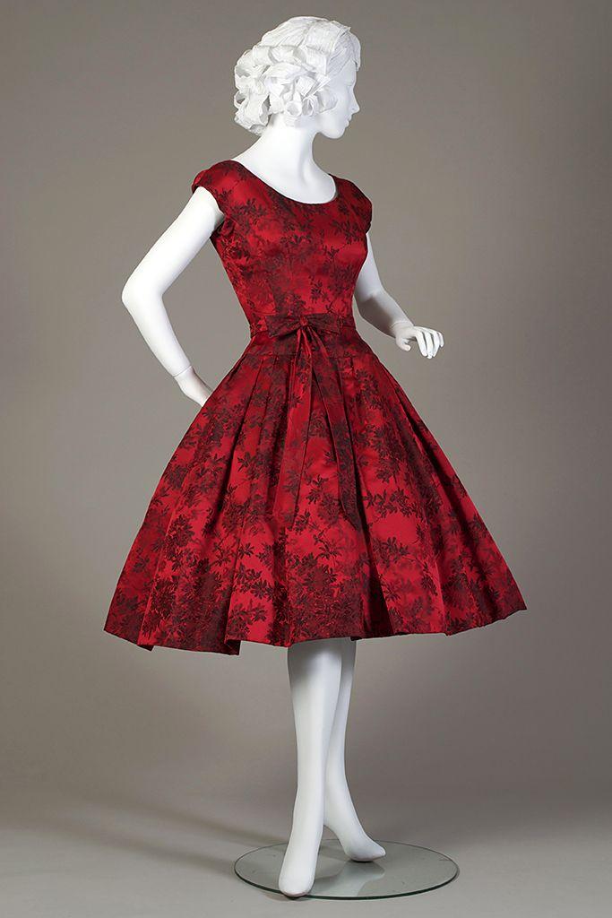 Red Vintage Cocktail Dresses