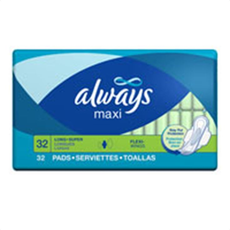 Buy Always Maxi Pads Long Super with Flexi-Wings - 32 Pads   Always Maxi Pads Quilting helps pads keep their shape better, so it can continue to absorb. myotcstore.com - Ezy Shopping, Low Prices & Fast Shipping.