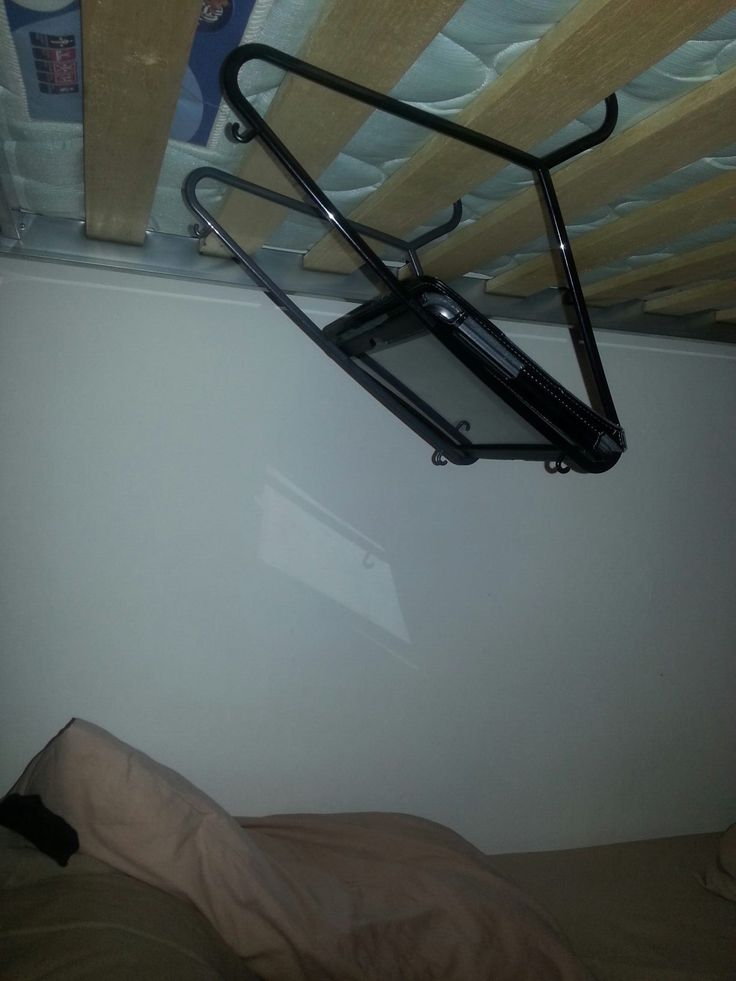 My cousin is a genius... ---Seriously, I have a bunk bed, how did I never realize this???