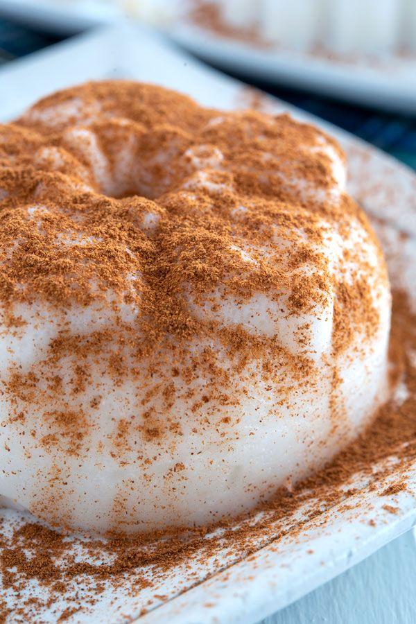 Tembleque De Coco Recipe Creamy Coconut Pudding Dusted With Cinnamon This Puerto Rican Dessert Is Pure Comfort Food Boricua Recipes Coconut Pudding Desserts