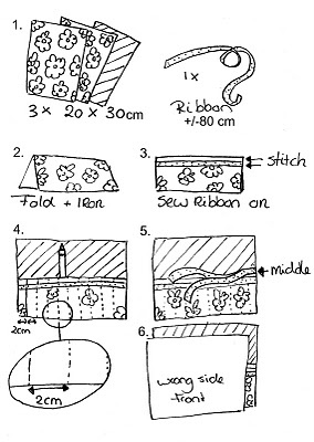 B.D.Designs: Pencil Roll Tutorial!