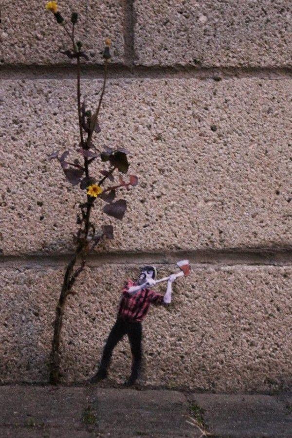 STREET ART UTOPIA » We declare the world as our canvasstreet art in Leith Edinbrugh » STREET ART UTOPIA