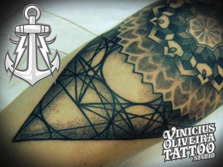 Dotwork, geometric, Tattoo Montijo