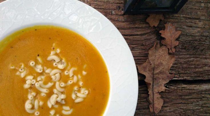 Græskarsuppe med orme, Danmark,Halloween, Andet, Børn, opskrift
