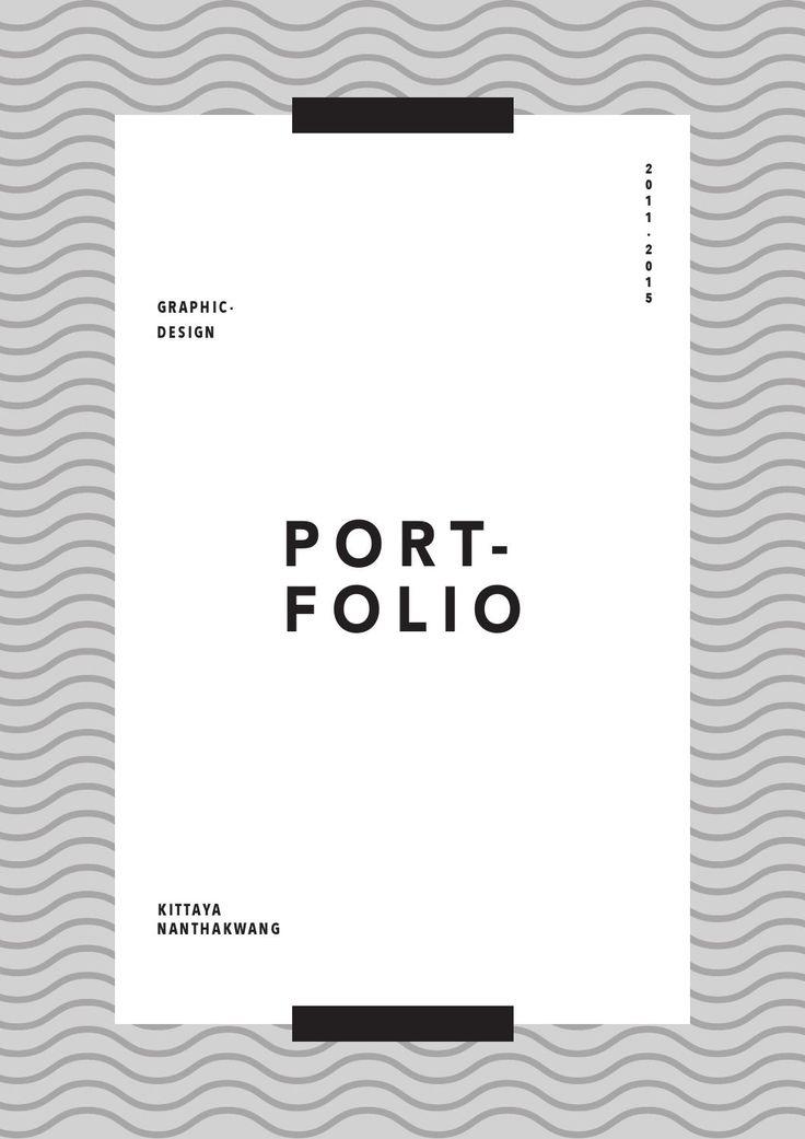 Portfolio - Graphic Design 2015 KITTAYA N.